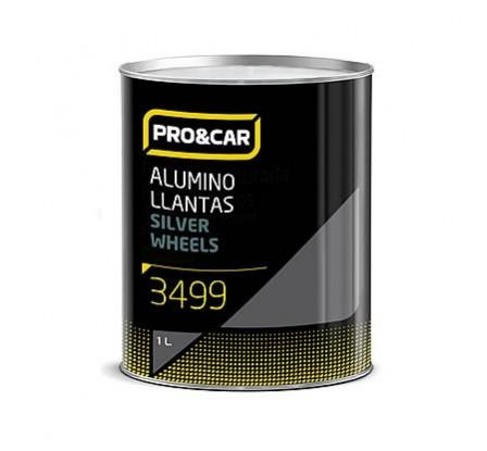 Esmalte Aluminio Llantas 1l