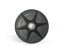 "Plato ""Rubflex"" 125mm Velcro"