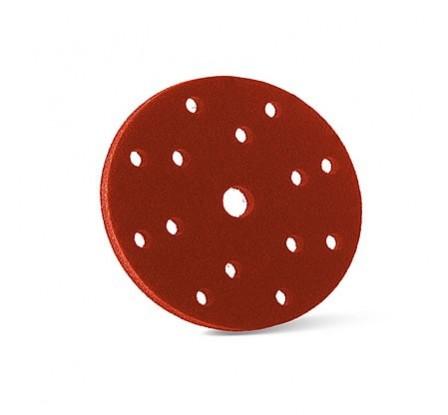 Soporte Espuma Lijado Rojo 150mm X 10mm (Interface)