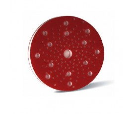 Soporte Espuma Lijado Multiagujeros Rojo 150mm X 10mm