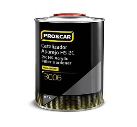 2k Hs Acrylic Filler Hardener Medium 0,5 l