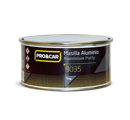 Masilla Poliéster De Aluminio 1kg