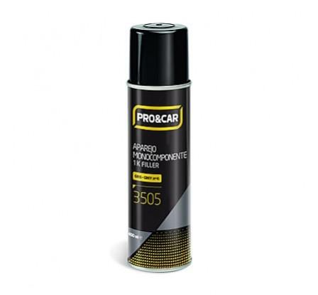 Spray Aparejo Monocomponente Gris Oscuro 400ml 12Uds